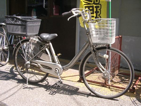 お母さんの自転車