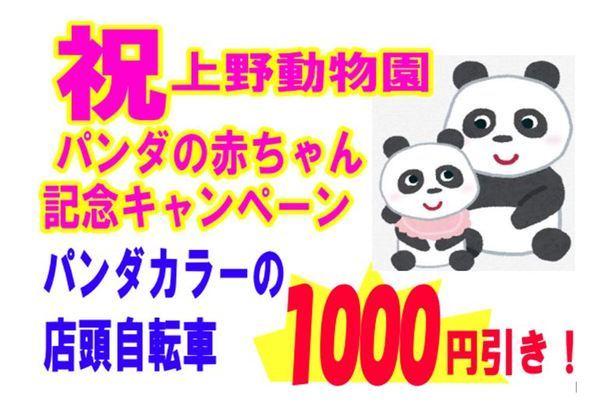 祝!上野動物園パンダの赤ちゃん記念