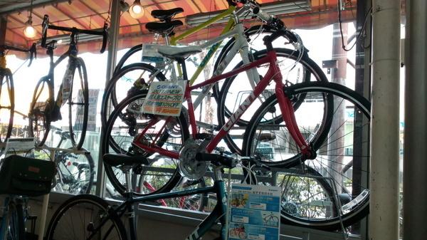 クロスバイクを通勤快速仕様に