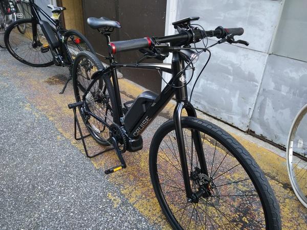 【シマノSTEPS搭載で】ミヤタ クルーズ5080【最もお安いE-バイク】